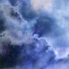 Nebula Sky-Senarius #digitalart, #spaceart, #scifi, #astronomy