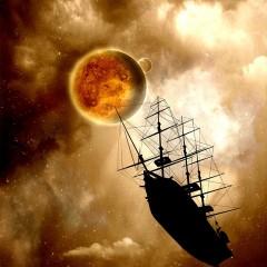 SpaceShip-Senarius #digitalart, #spaceart, #scifi, #astronomy
