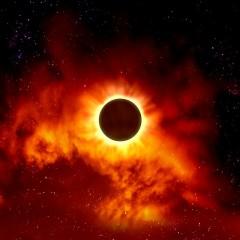 Eclipse-Senarius #digitalart, #spaceart, #scifi, #astronomy