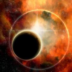 Sunrise-Senarius #digitalart, #spaceart, #scifi, #astronomy