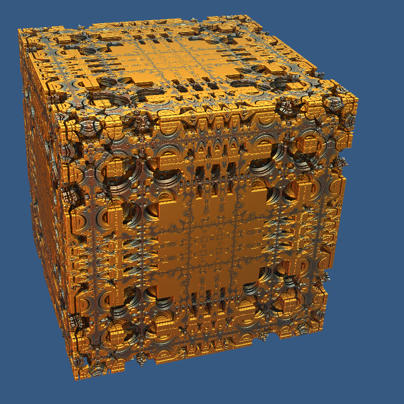 MandelBox-fractal