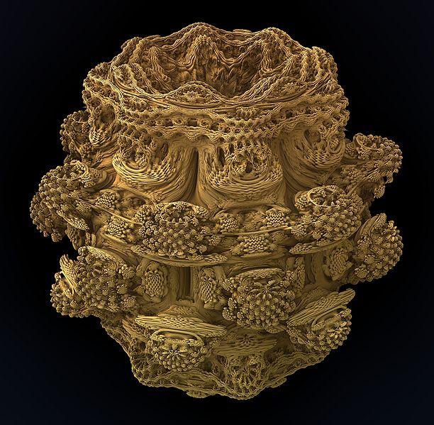 Mandelbulb-fractal